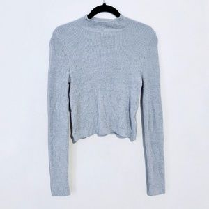 Forever 21 Ribbed Cropped Sweater
